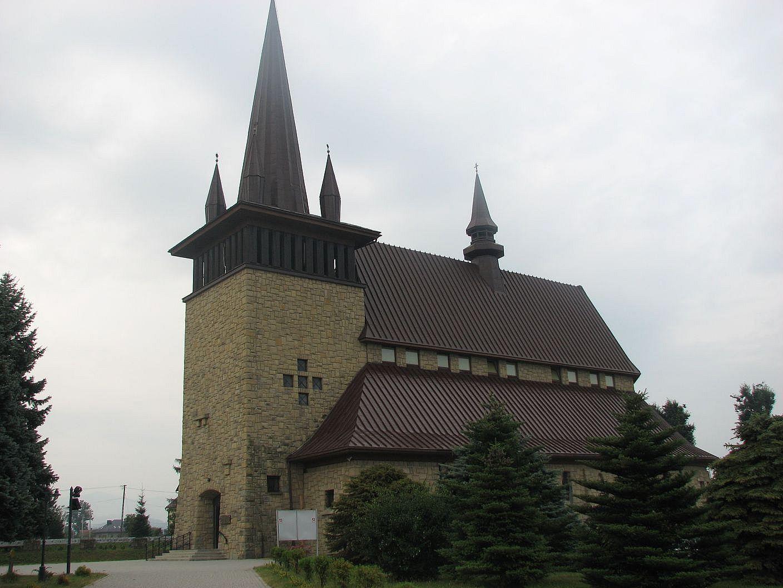 Kościół pw. Matki Boskiej Bolesnej w dzielnicy Nowego Sącza - Zawadzie